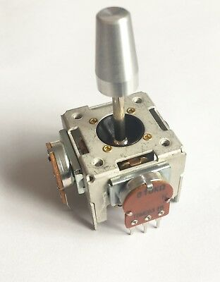 Joystick controller. 2 axis 10KB - sprung or unsprung - potentiometer New x1