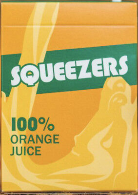2 X Squeezers playing cards. 2 New sealed decks.