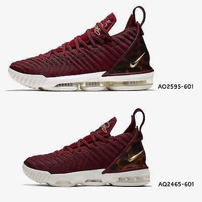 pretty nice 817e5 a9298 Nike LeBron XVI EP 16 King James Team Red Leopard Mens Womens GS Shoes Pick  1