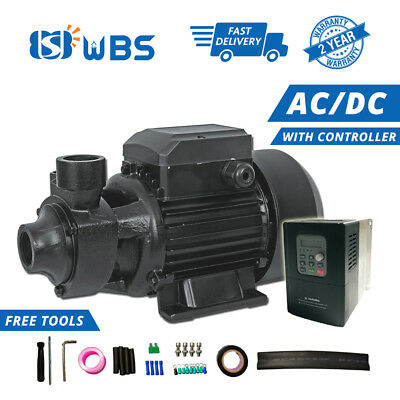 WBS Solar AC / DC Surface Pump 1HP MPPT Controller Brushless Motor On / Off Grid