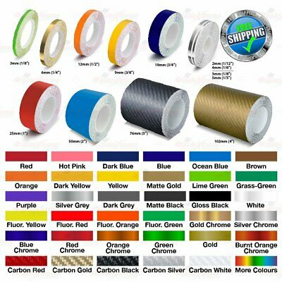 Roll PIN STRIPE Car Model Motorcycle Self-Adhesive Decal Line TAPE Vinyl Sticker