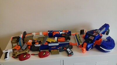 HUGE NERF GUN BUNDLE Spares or Repairs