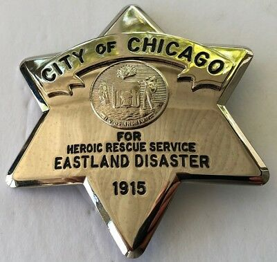 City of Chicago 1915 Eastland Disaster Commemorative