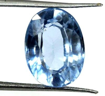 GGL Certified 8.10 Ct Oval Natural Brazilian Exceptional Aquamarine Gemstone