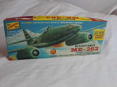 Messerschmitt ME-262 Flugzeug Modellbau the lindberg line Kit No. 538:98