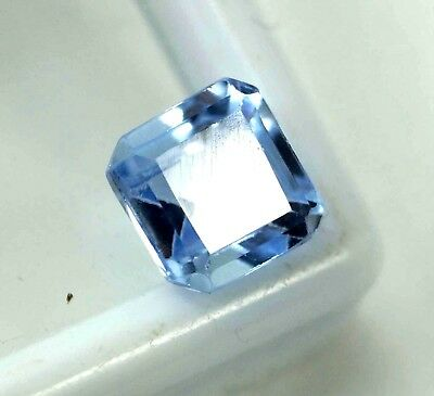 GGL Certified 2.45 Ct Radiant Shape Brazilian Breathtaking Aquamarine Gemstone