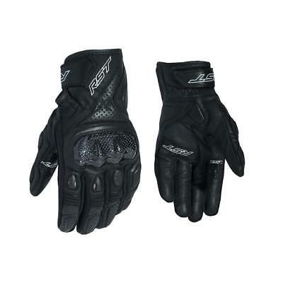 RST 2123 Stunt III CE Mens Motorcycle Leather Glove In Black