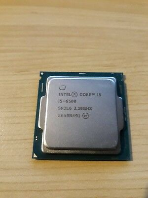 Intel Core i5-6500 CPU Processor, Working Used, CPU Only, Actual Picture