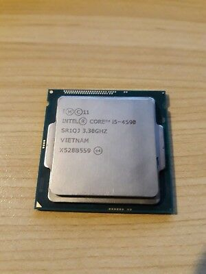 Intel Core i5-4590 CPU Processor, Working Used, CPU Only, Actual Picture