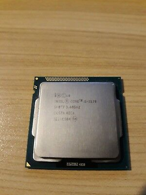 Intel Core i5-3570 CPU Processor, Working Used, CPU Only, Actual Picture