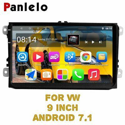 Panlelo S9 9 inch Autoradio For Volkswagen Car Android 7.1 GPS Navigation For VW