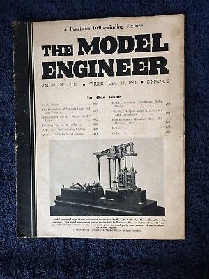Model engineer Magazines 8 Mixed Lot From 1941 (see Pictures)