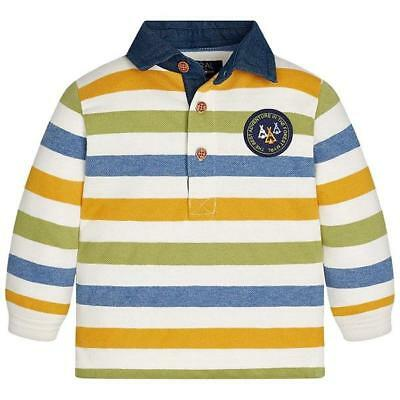 Mayoral 6 Month Long Sleeve Polo Shirt RRP £18 2125