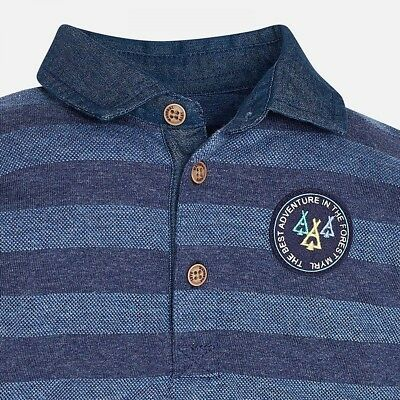 Mayoral 6 Month Boy Long  Sleeve Polo Shirt RRP £18 2125