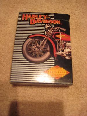 Harley Davidson Playing Cards. Set of 52 plus Two Jokers