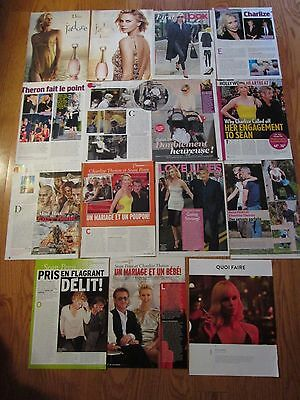 Charlize Theron 100 clippings