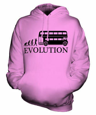 Alt London Bus Fahrer Evolution Of Man Unisex Kapuzenpullover