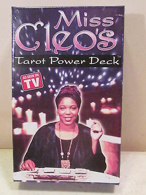 Miss Cleo's Tarot Cards Power Deck Psychic Fortune Telling Still Sealed