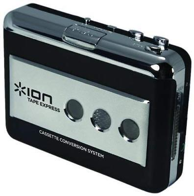 ION Audio Tape Express Portable Analogue - Digital MP3 Cassette Converter/Player