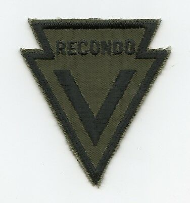 MAC V RECONDO School Subdued Patch