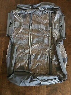 Graco Pack N Play Replacement Clip On Mesh BASSINET Insert w/ Poles GRAY NEW