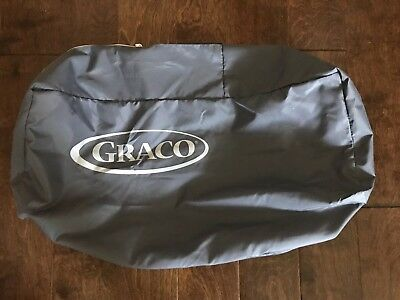 Graco Pack N Play Replacement Bag Carrying Case Travel Pack Zipper Gray NEW