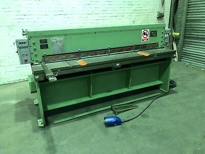Press & Shear Elga Mechanical Sheet Metal Guillotine