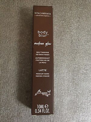 VITA LIBERATA Body Blur HD Skin Finish shade Latte medium-dark 10ml sample