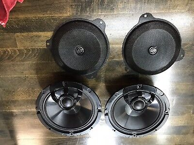 "Boom Audio Upgrade Harley Davidson 6.5"" Speaker & Grill Set"