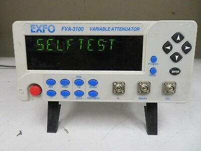 EXFO FVA-3100 Variable Attenuator - Nice Unit -  ND18