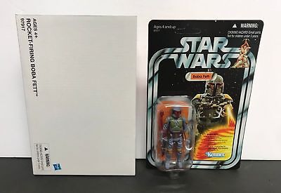 Star Wars New Vintage Collection Mail Away Rocket Firing Boba Fett. New in Box