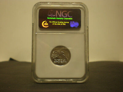 2005 American Platinum Eagle Quarter Ounce $25 1/4 oz NGC MS69