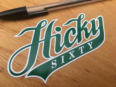 "Peter Hickman ""Hicky"" Logotype Decal"