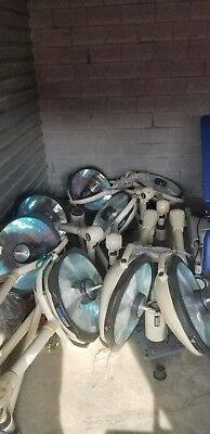 Lot of 4 Pairs of Steris Amsco SQ240 Surgical Lighting System