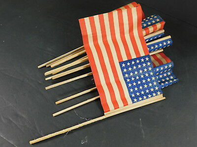 lot of 12 (twelve) US flags, printed 1944 in France for Liberation.
