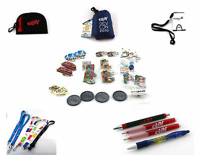 eBay Live Collection - 20 Pins, 5 Lanyards, 4 Coins, 4 Pens & More!, Ebayana