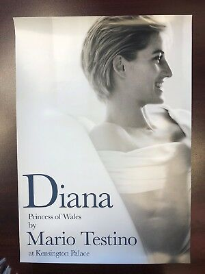 Princess Diana Poster from Kensington Palace Exhibition