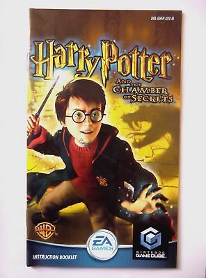 48513 Instruction Booklet - Harry Potter And The Chamber Of Secrets - Nintendo G