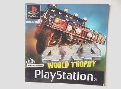 49230 Instruction Booklet - 4X4 World Trophy - Sony Playstation 1 (2000) SLES 02