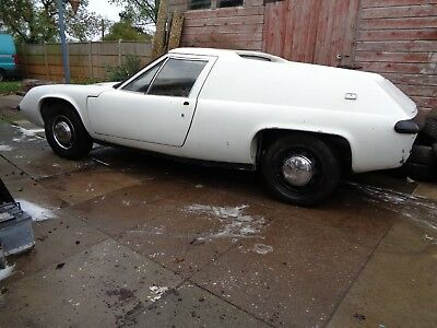 Lotus Europa S2 Type 54 Project Restoration 1969