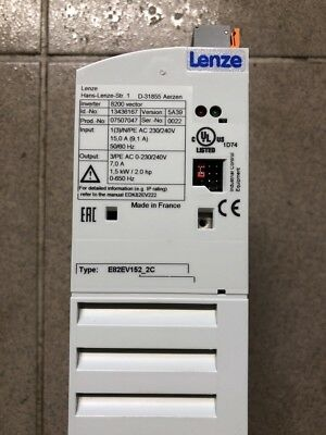 Lenze Frequenzumrichter Inverter 8200 Vector 1,5kW