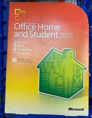 Microsoft  Office Home and Student 2010 32/64-Bit (Retail (License + Media)) (3