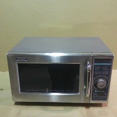 Sharp R-21LCF Medium-Duty Commercial Microwave Dial Timer 1000-Watts 120-Volts