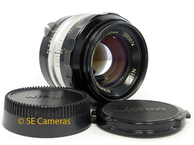 Nikon Nikkor S.c Pre Ai 50Mm F1.4 Fast Prime Coated Lens *very Good Condition*