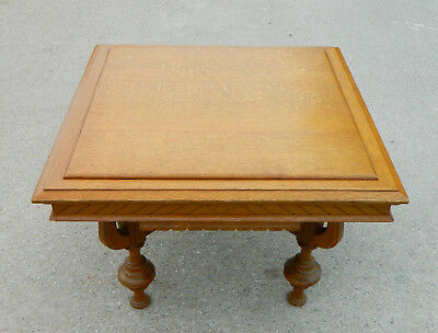 Sweet Tiger Oak Cocktail Coffee Table 1890