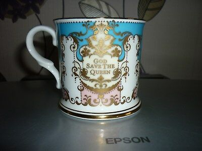 Queens Golden Jubilee Souvenir Cup The Royal Collection 2002 Fine Bone China Mug