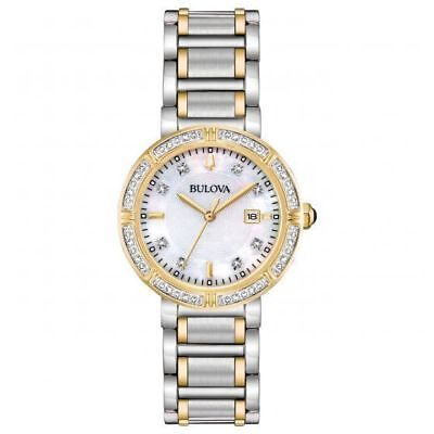 Bulova 98R260 Women's Quartz Diamond Accent Two-Tone Watch