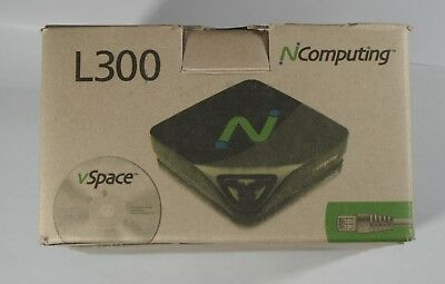 Ncomputing L300 Network Virtual Desktop Thin Client - complete set