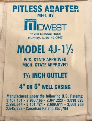 Maass Midwest Pitless Adapter 4J1-1/2