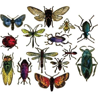 Sizzix Framelits Dies by Tim Holtz ~ ENTOMOLOGY~ 663068 Bugs 14 pack